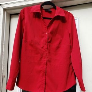 Style & Co Red Blouse